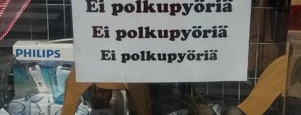 Kirpputori DoM is one of Peter: сохраненные места.