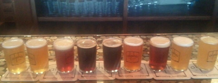Alpha Brewing Company is one of St. Louis brewpubs.
