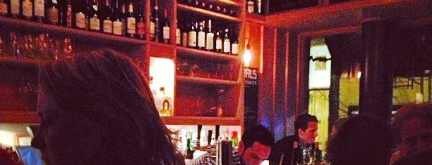 Blue Ribbon Downing Street Bar is one of NYC Wine Bars.