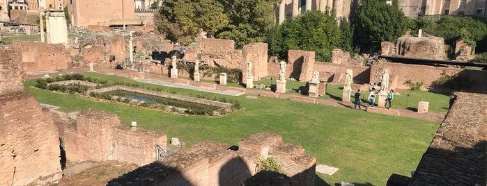 Atrium Vestae | House of the Vestal Virgins is one of ROME - ITALY.