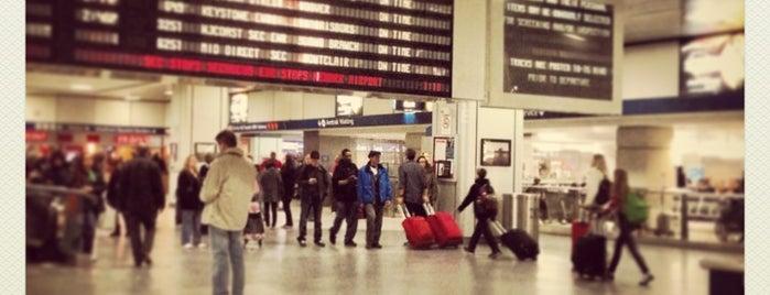 New York Penn Station is one of Manhattan Favorites.
