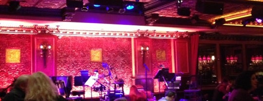 Feinstein's/54 Below is one of Places to go to by me.