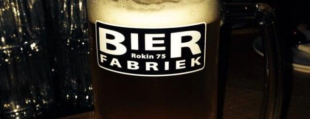 Bierfabriek is one of Bier & Amsterdam.