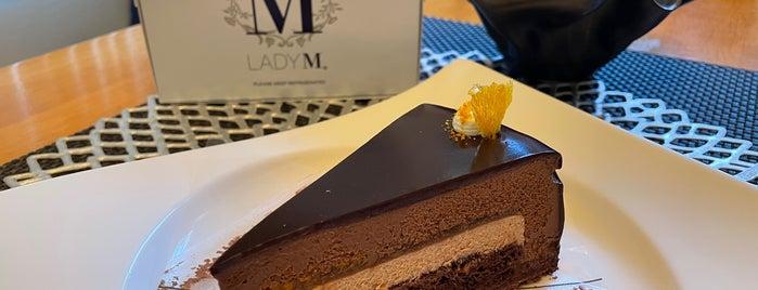 Lady M Cake Boutique is one of Locais curtidos por Vivian.
