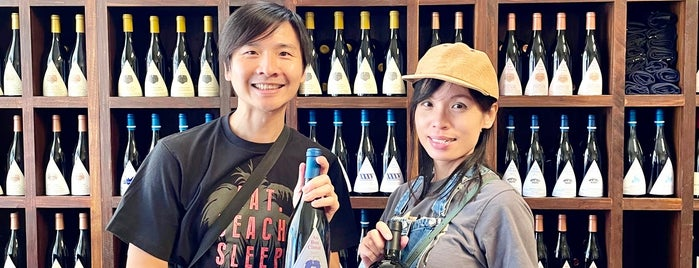 Au Bon Climat Tasting room is one of SoCal Musts.