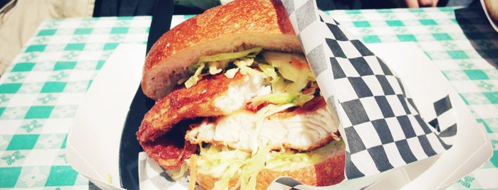 Sally's Famous Fishwich is one of San Francisco Bay.