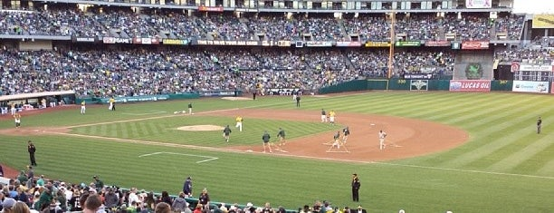 RingCentral Coliseum is one of MLB.