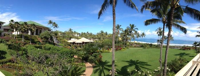 Grand Hyatt Kauai Resort And Spa is one of Condé Nast Traveler Platinum Circle 2013.