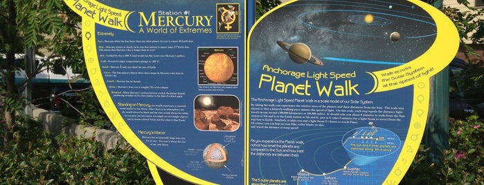 Anchorage Planet Walk - Mercury is one of Tiffany 님이 저장한 장소.