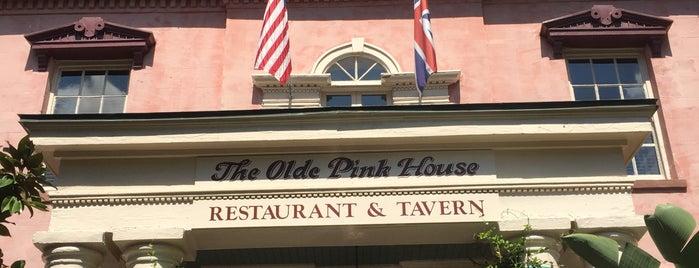Olde Pink House Restaurant is one of Savannah.