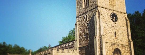 St Dunstan's is one of Lugares guardados de Maha.