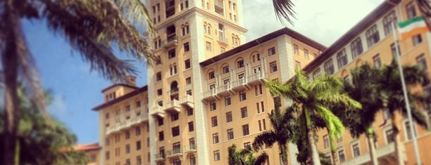 Biltmore Hotel is one of Miami.