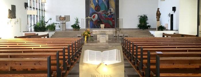 St. Josef is one of Katholische Kirchen in Schweinfurt.