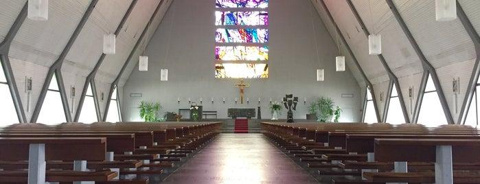 Christkönig is one of Katholische Kirchen in Schweinfurt.