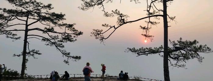 Nok Aen Cliff is one of เลย, หนองบัวลำภู, อุดร, หนองคาย.