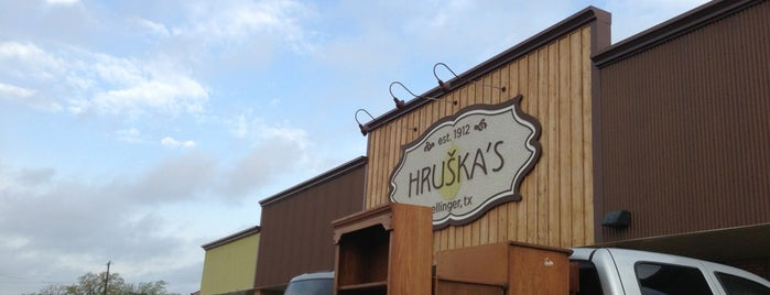 Hruska's is one of Houston.
