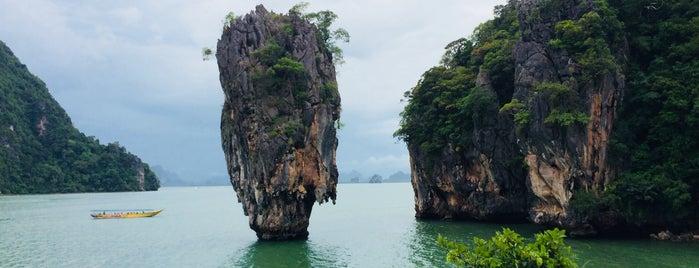 Phang Nga Bay is one of Thailand.