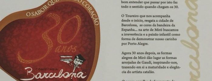 Confeitaria Barcelona is one of Locais curtidos por Carolina.