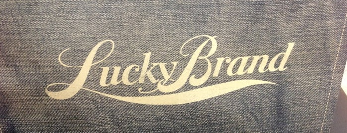 Lucky Brand is one of Favorite Places to visit!.