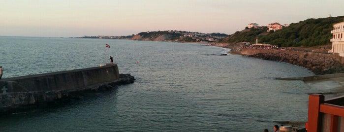Port de Guéthary is one of Lieux qui ont plu à Jules.