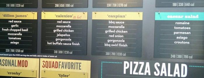 MOD Pizza is one of Apnea'nın Beğendiği Mekanlar.