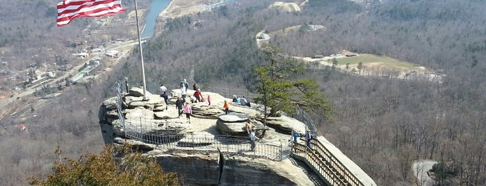 Chimney Rock State Park is one of Blue Ridge Parkway.