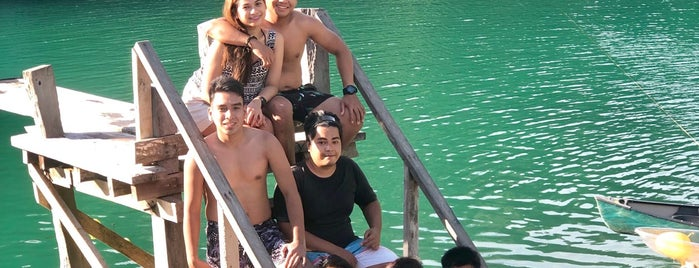 Sugba Lagoon is one of Marinaさんの保存済みスポット.