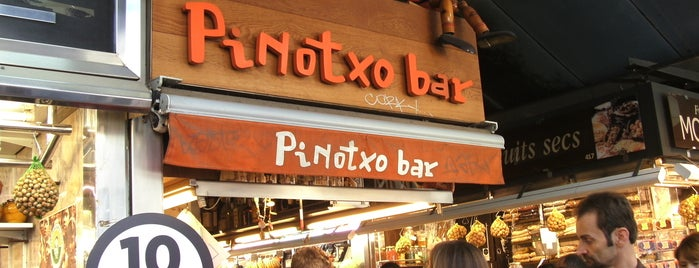 Pinotxo is one of Coffee.