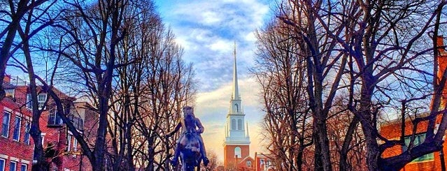 Paul Revere Mall is one of Boston.