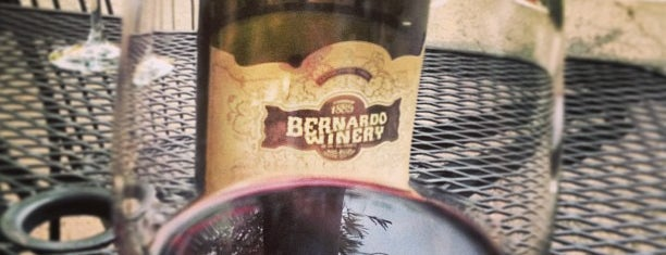 Bernardo Winery is one of Posti che sono piaciuti a Elijah.