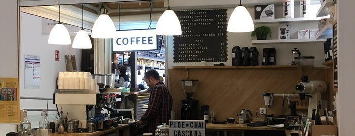 Randall Coffee Roasters is one of Third wave/specialty coffee in Madrid.