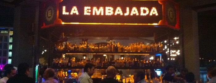 La Embajada is one of Lugares favoritos de Ismael.