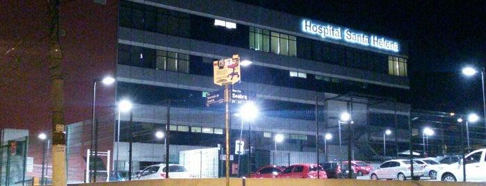 Hospital Santa Helena is one of Locais curtidos por Ricardo.