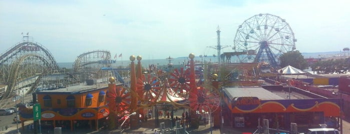 Coney Island is one of Orte, die Mark gefallen.