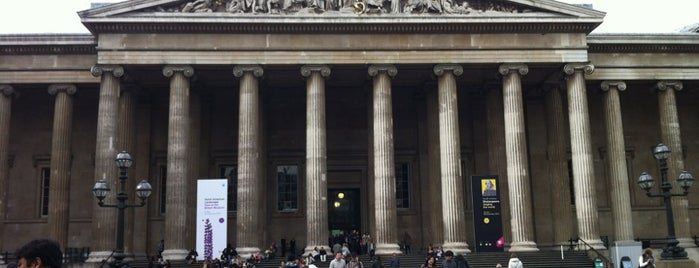 British Museum is one of London, Greater London UK.