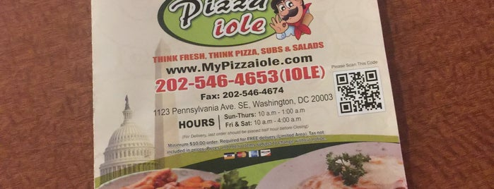Pizzaiole is one of DC Dinner.
