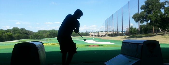 Topgolf is one of Dallas/Ft. Worth.
