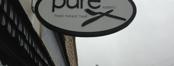 Pure Eatery is one of CSM.