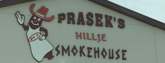 Prasek's Hillje Smokehouse is one of Posti che sono piaciuti a Andres.