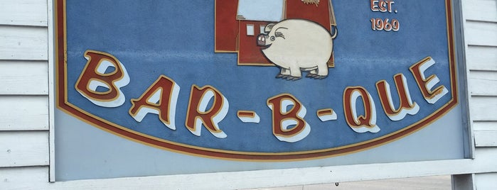 Carolina Bar-B-Que is one of Not Really Double Blind BBQ Evaluation of Augusta.