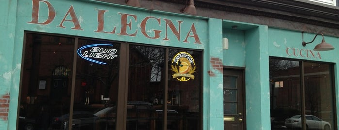 Da Legna is one of CT - New Haven.