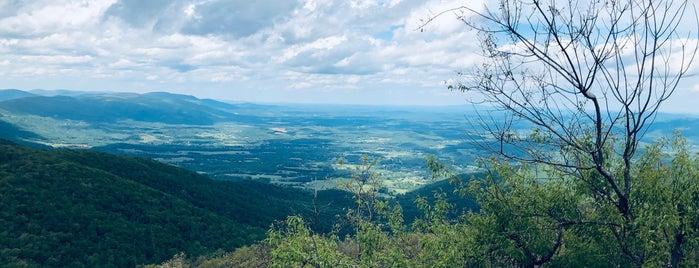 Humpback Rock Overlook is one of VA.