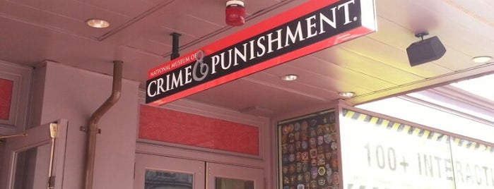 National Museum of Crime & Punishment is one of DC Bucket List.