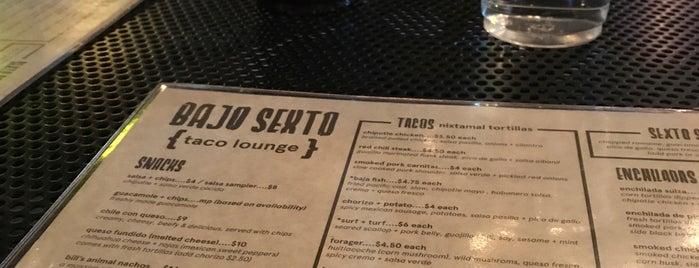 Bajo Sexto Taco Lounge is one of Brady'ın Beğendiği Mekanlar.