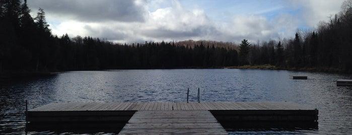 Blueberry Lake Resort Mont Tremblant is one of สถานที่ที่ Kinan ถูกใจ.