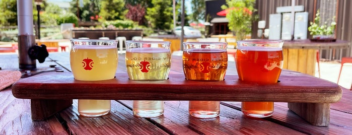 Tin City Cider Co. is one of Paso Robles Faves.