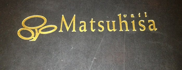 Matsuhisa is one of Lista de Restaurantes (F Chandler).
