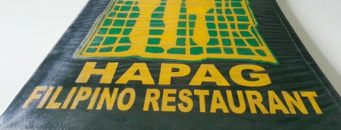 Hapag Filipino Restaurant is one of Lugares favoritos de Shank.
