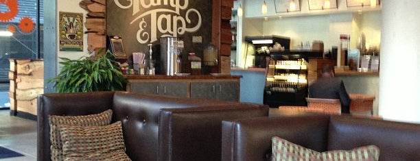 Tamp & Tap is one of I-40 Coffee Trail.