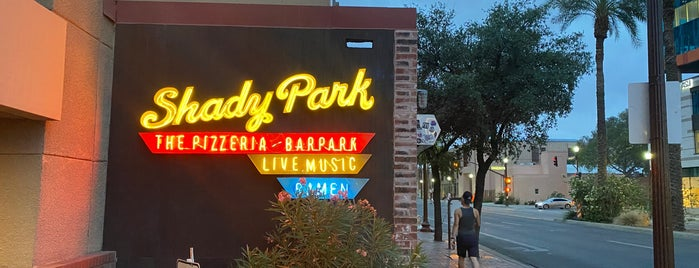 Shady Park is one of Phoenix.